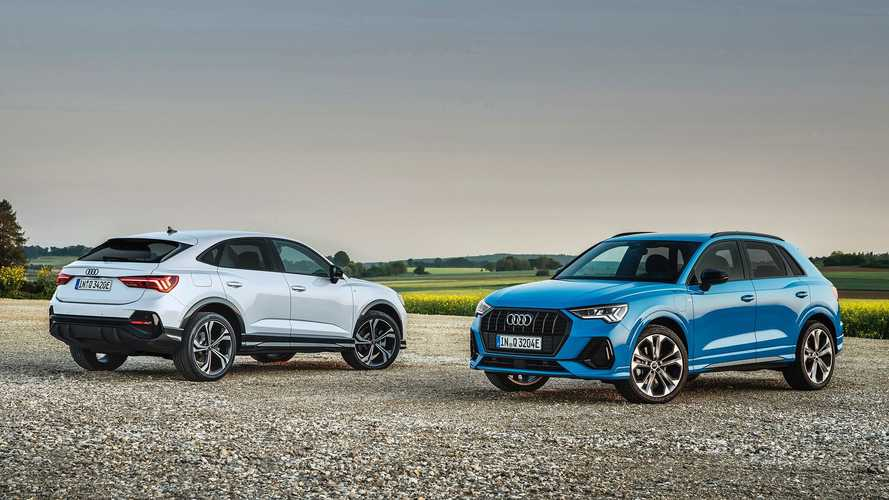 Audi adds plug-in hybrid power to Q3 SUV range in UK