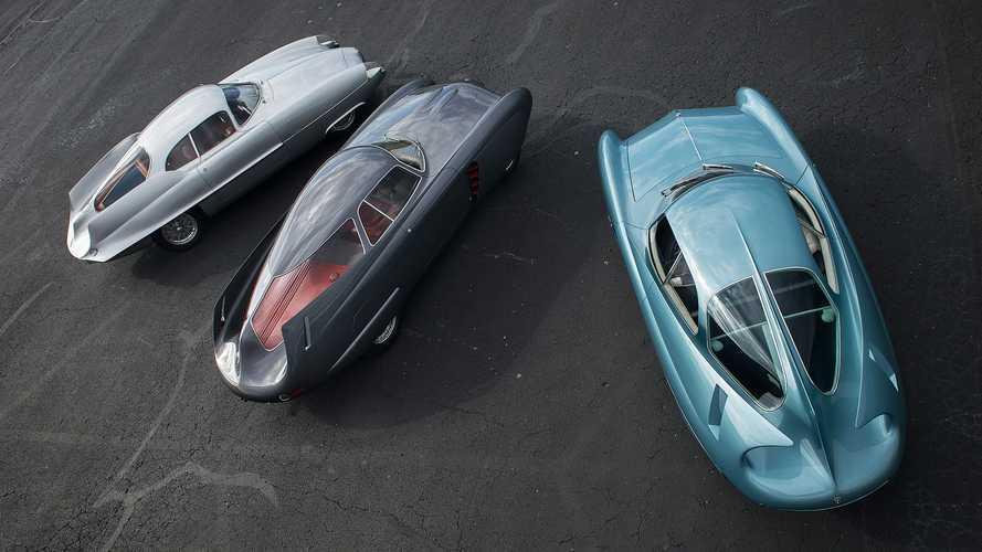 Les trois concepts Alfa Romeo B.A.T. adjugés 14,8 millions de dollars