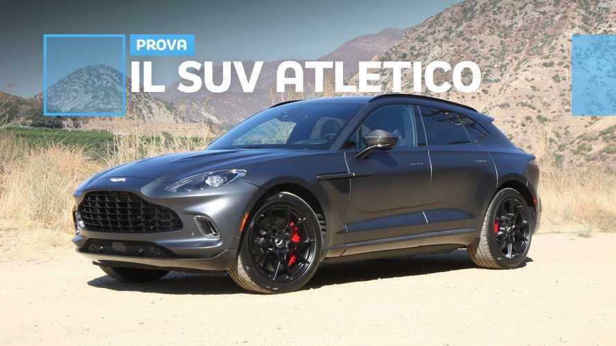 Aston Martin DBX, è davvero sportivo e sa andare ovunque con stile