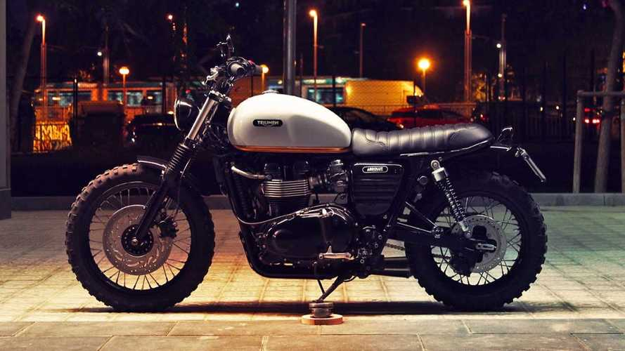 Absolute Neck-Breaker: Triumph Bonneville 865 Scrambler