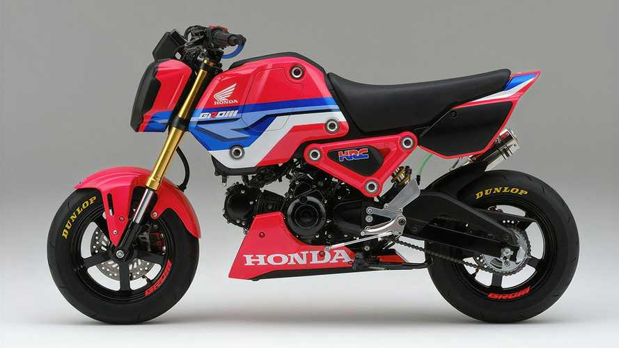HRC Honda Grom Race Kit