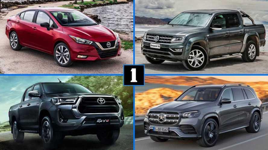 Novos Nissan Versa, Toyota Hilux, VW Amarok V6 e outras estreias ainda de 2020