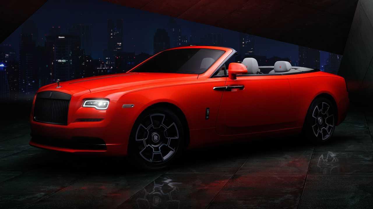 Rolls Royce Dawn Wraith E Cullinan Ganham Pinturas Neon Oficiais E Exclusivas