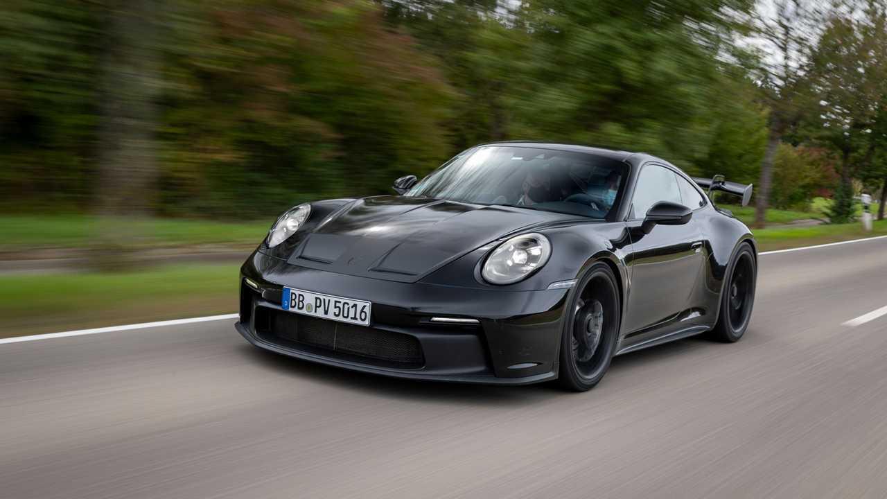 2021 Porsche 911 GT3 Prototípus első negyed hőse