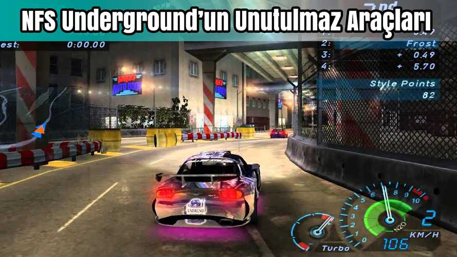 Need For Speed Underground'un Unutulmaz 10 Aracı | Bilgin Olsun