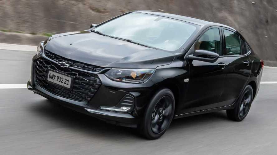 Sedãs compactos em abril: Chevrolet Onix Plus mantém liderança