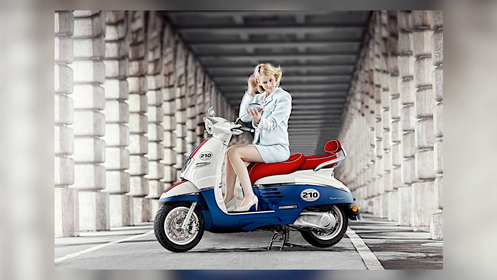 Peugeot Launches 210th Anniversary Django 125 Scooter