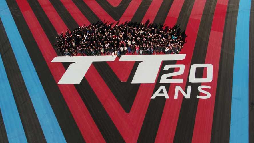 L'Audi TT a soufflé ses 20 bougies sur le circuit Paul Ricard