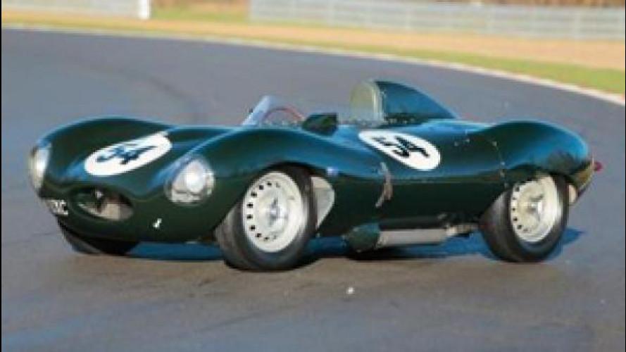 E' record: una Jaguar D-Type venduta per 3,6 milioni di euro