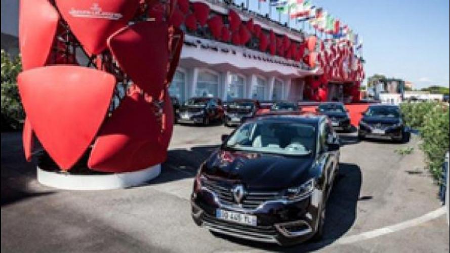 Mostra del Cinema di Venezia, le auto del Festival sono francesi