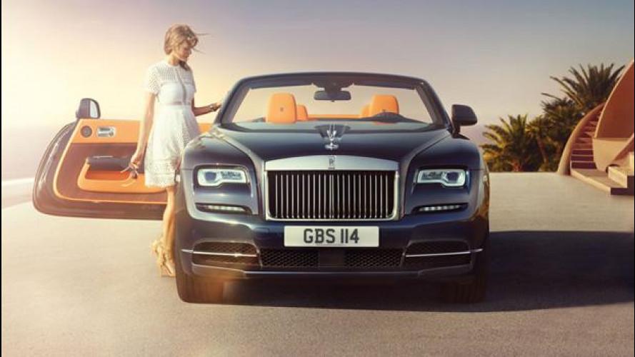 Rolls Royce Dawn, quattro posti extra lusso