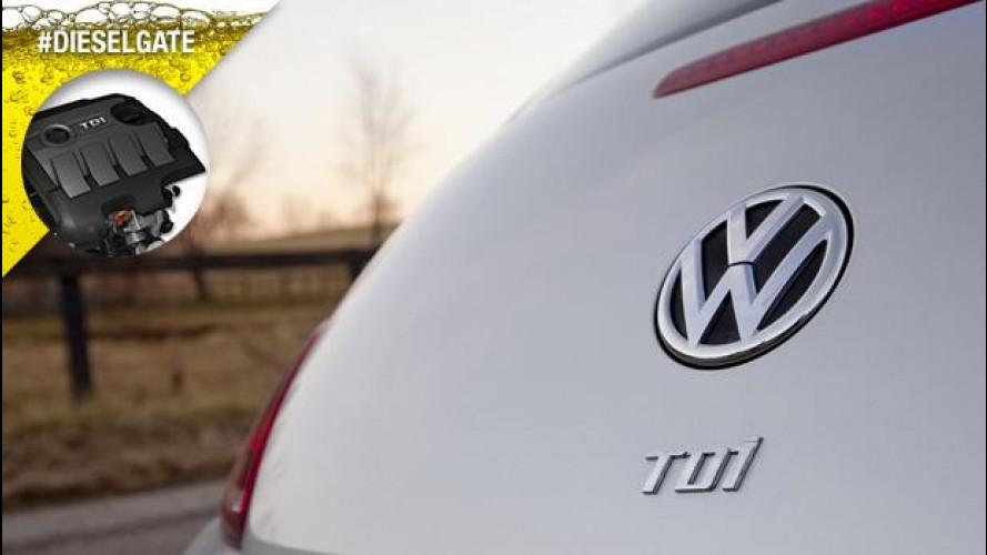 Dieselgate, stop ai diesel 2.0 TDI Volkswagen in America