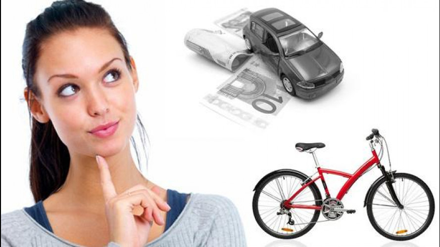 Auto? No grazie, gli italiani preferiscono la bici