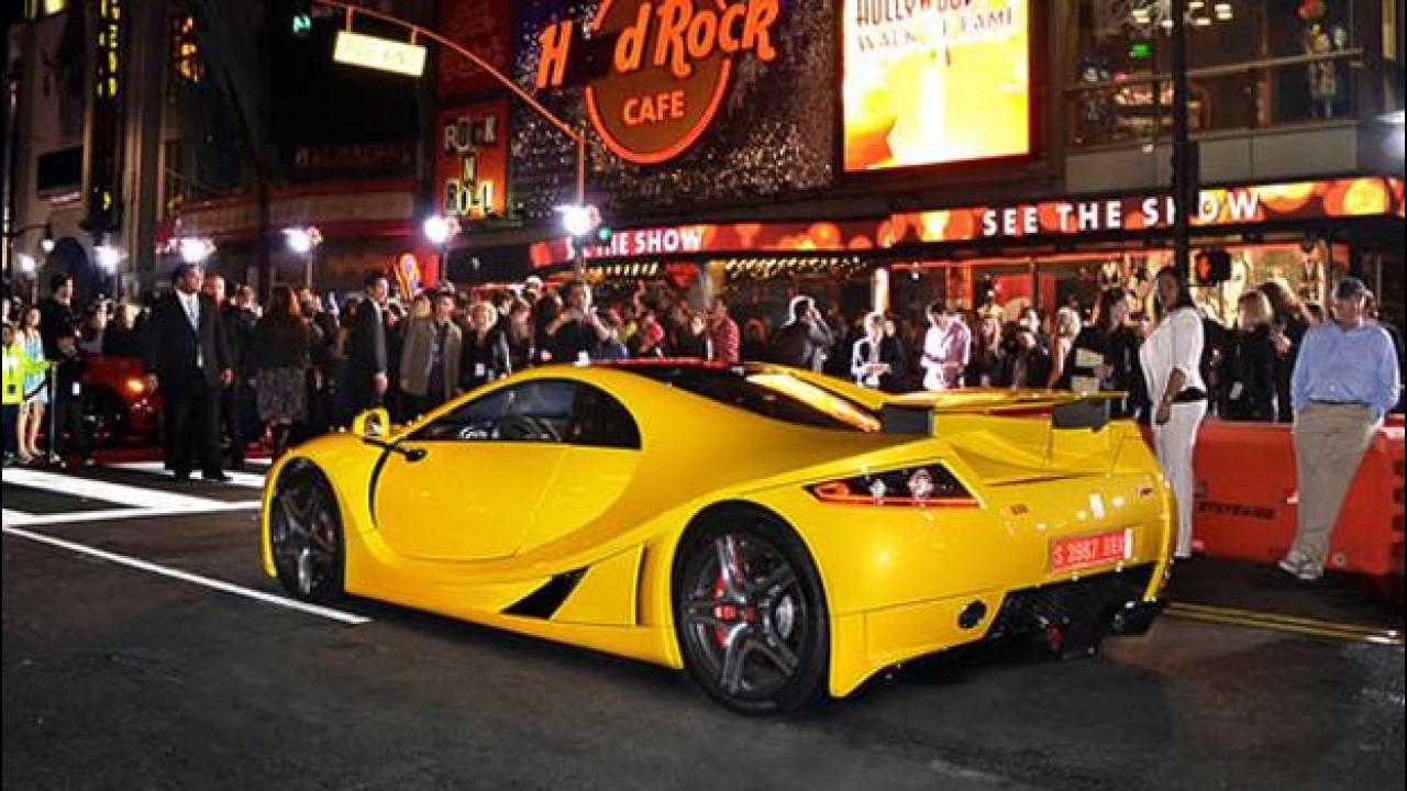 [Copertina] - Need For Speed, all'asta la GTA Spano del film per 1,5 milioni di euro