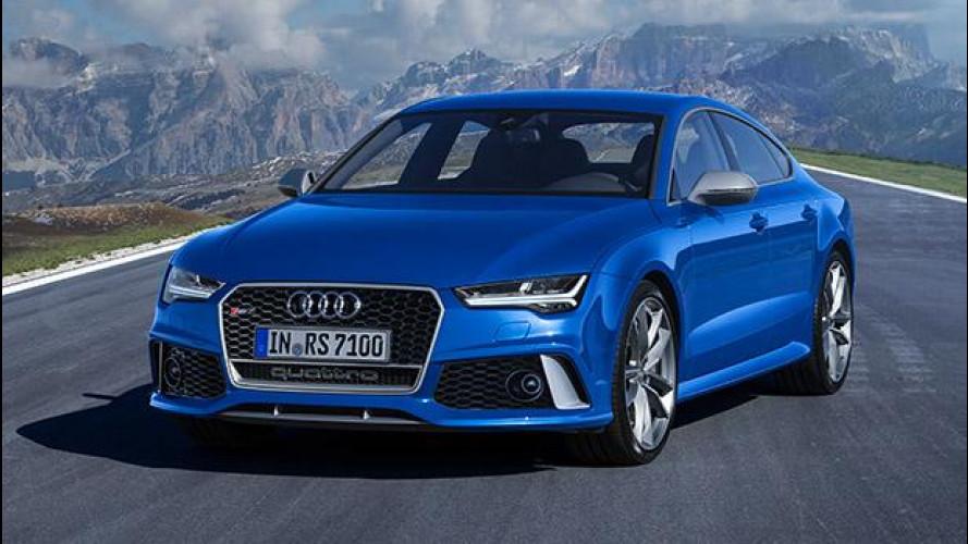 Audi RS 6 Avant e RS 7 Sportback performance: senza confini