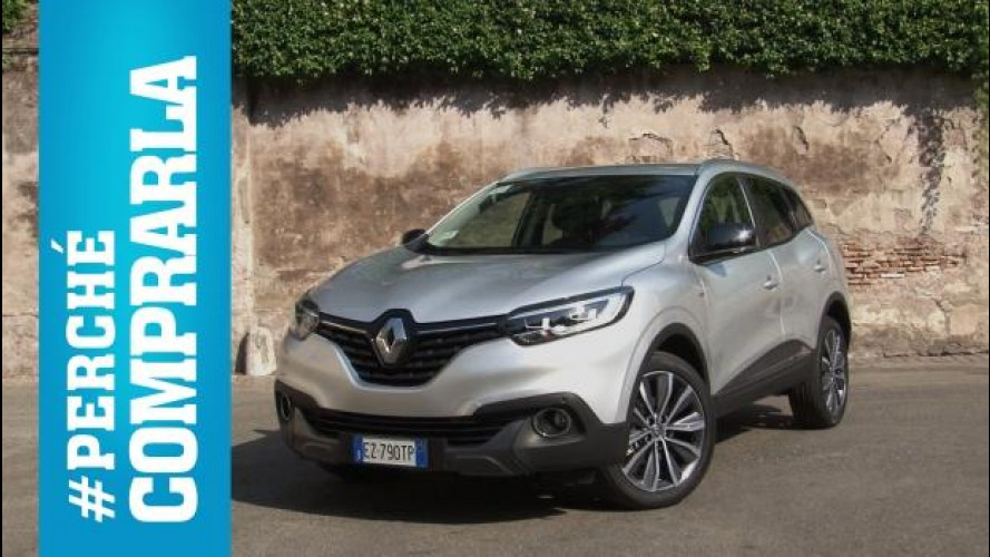 Renault Kadjar, perché comprarla... e perché no [VIDEO]