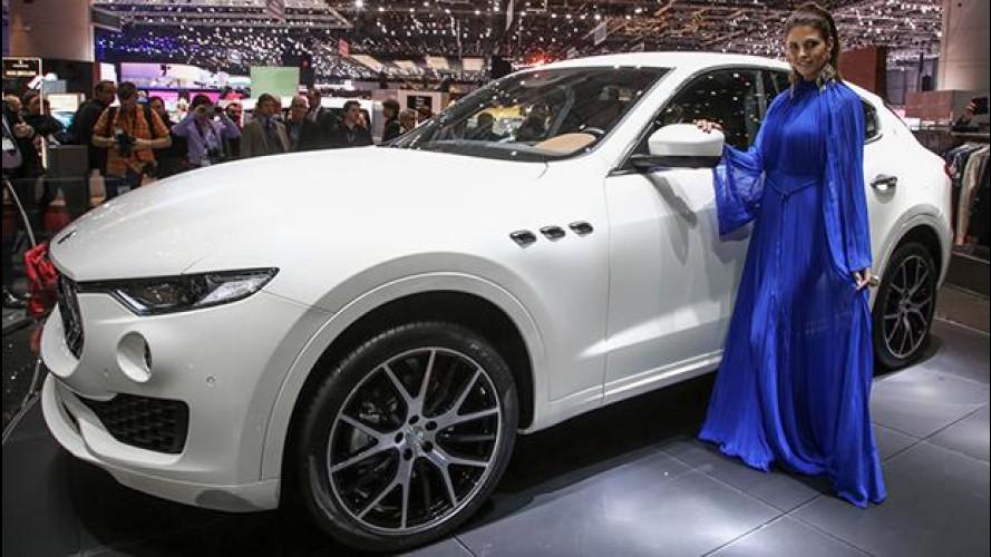 Maserati Levante, prezzi da 73.417 euro