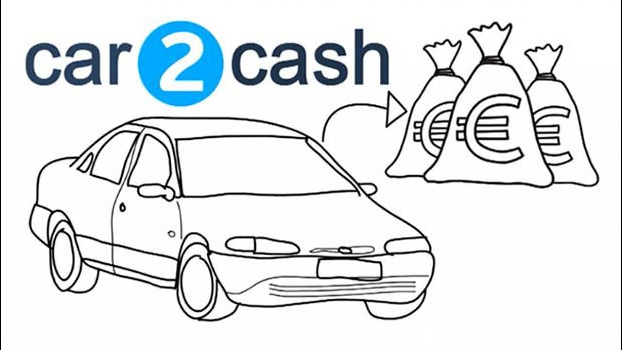 [Copertina] - Car2Cash, l'auto si trasforma in (non molto) denaro contante
