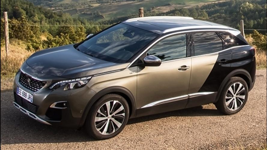 Peugeot 3008, l'ibrida plug-in avrà 300 CV