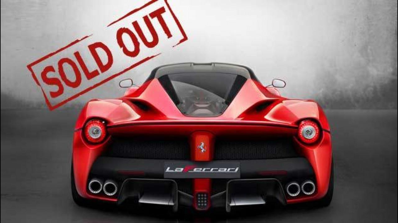[Copertina] - Ferrari LaFerrari, venduti tutti i 499 esemplari