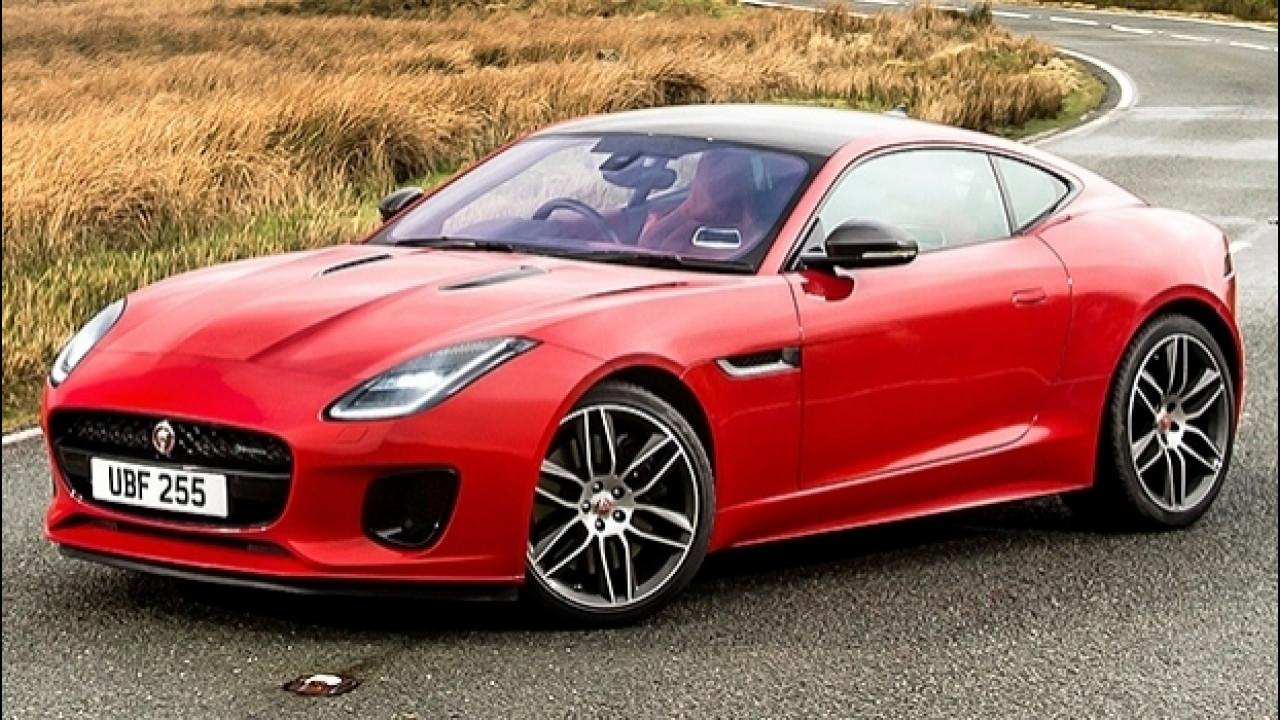 [Copertina] - Jaguar F-Type 2.0, convertita al quattro cilindri turbo