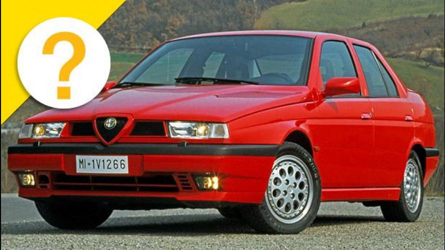 """Alfa 155 Q4 e Lancia Dedra Integrale erano """"Deltone travestite"""""""