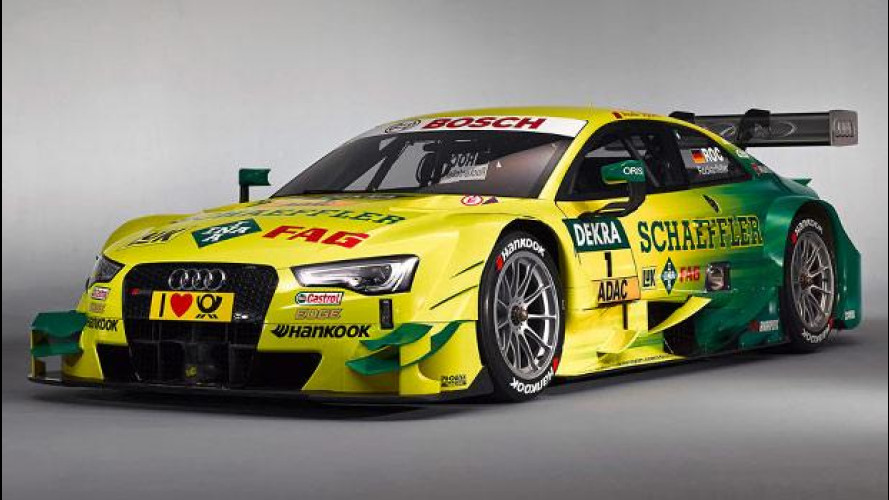 """Audi RS 5 DTM: ecco la """"numero 1"""" per il 2014"""