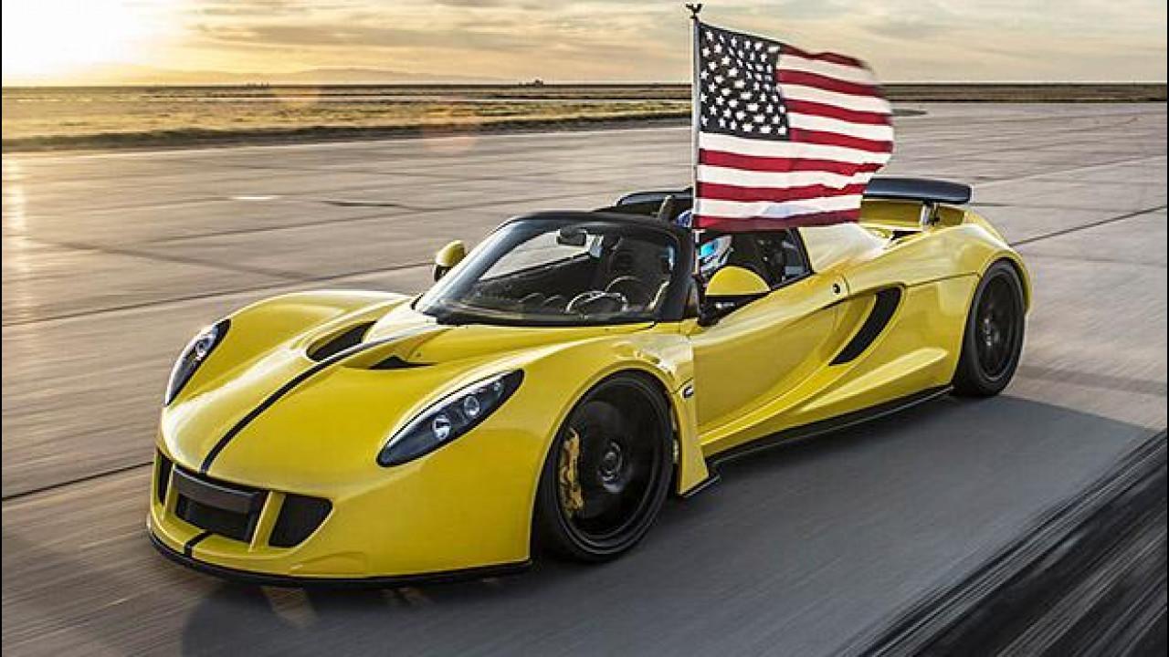 [Copertina] - Hennessey Venom GT Spyder, è lei la scoperta più veloce