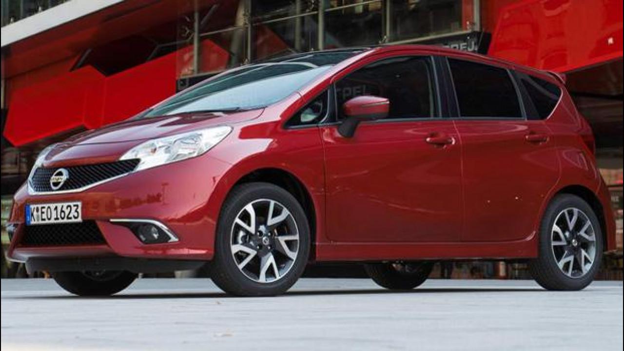 [Copertina] - Nissan Note DIG-S: 3 cilindri e compressore per consumare meno