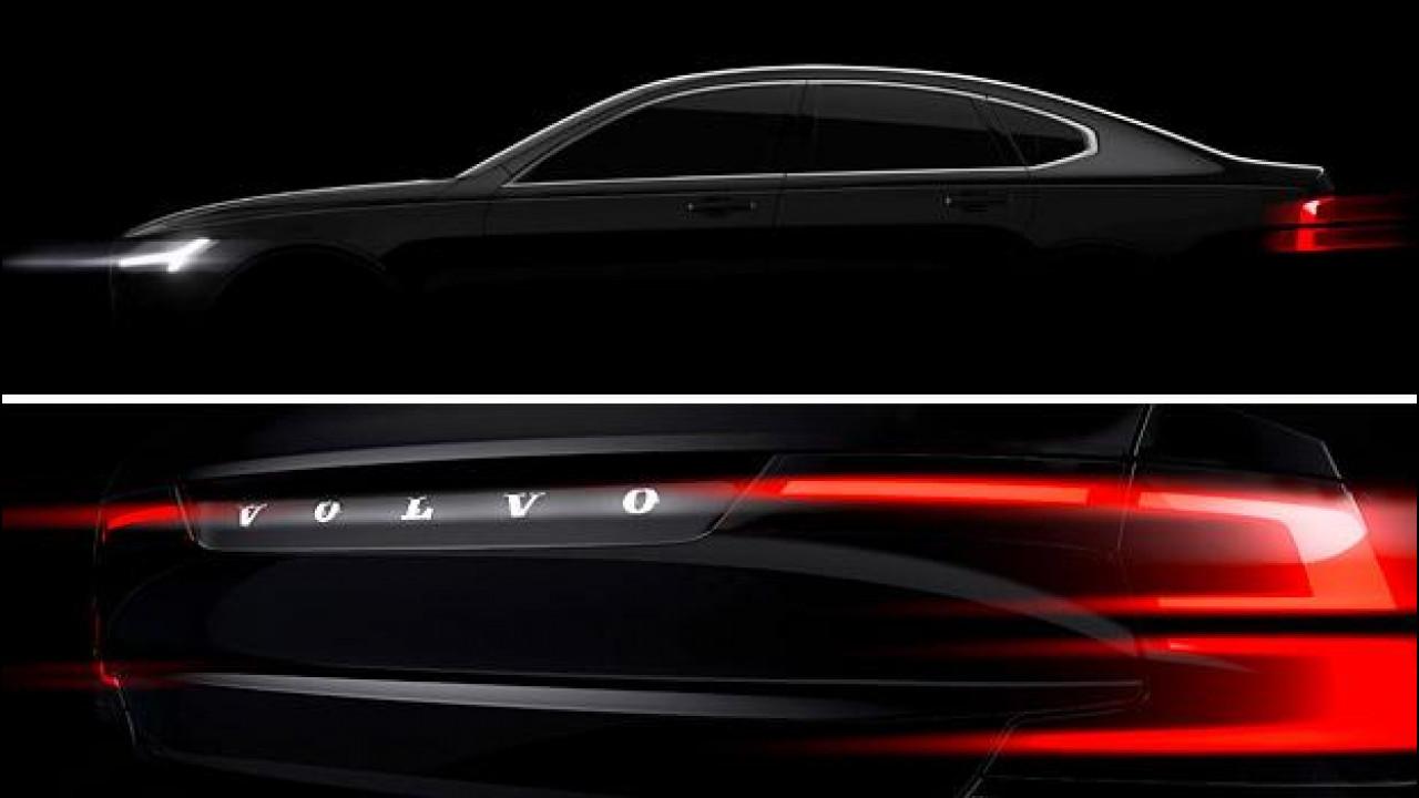 [Copertina] - Volvo S90, le nuove forme dell'ammiraglia
