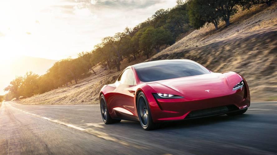 Yeni nesil Tesla Roadster tekrar görüntülendi