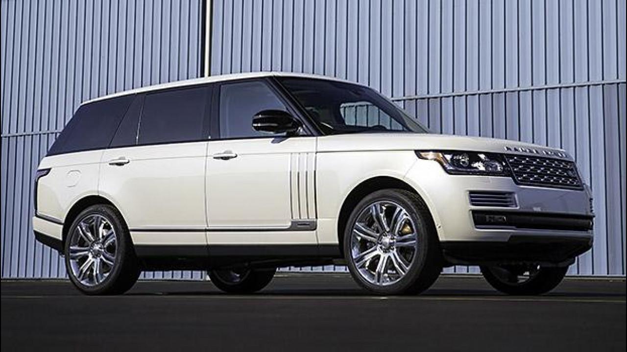 [Copertina] - Range Rover Autobiography Black, la regina da 155.300 euro