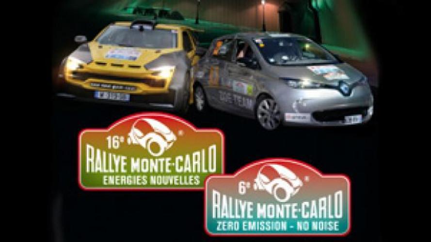 Renault ZOE corre al Rally Montecarlo ZENN