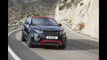 Range Rover Evoque Ember Special Edition, il rosso e il nero