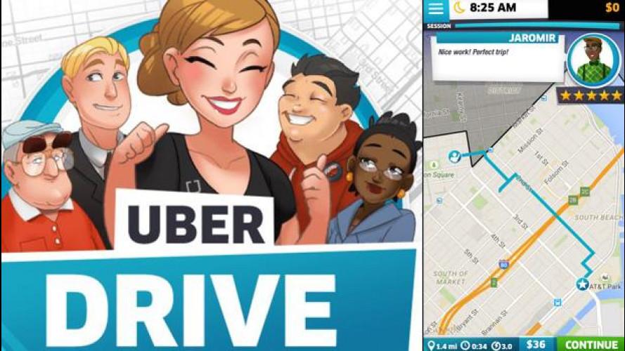 Uber recluta nuovi autisti con un'app gioco