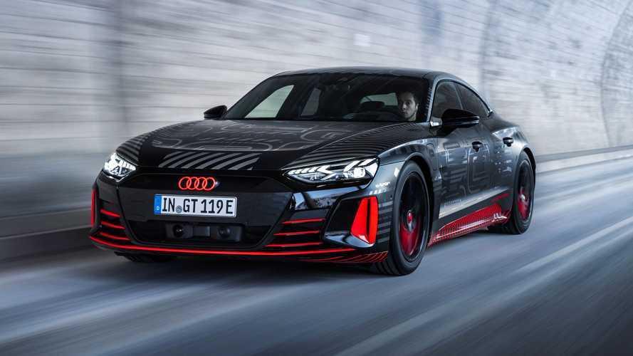 Audi e-tron GT será revelado em 9 de fevereiro e ganha vídeo na linha de produção