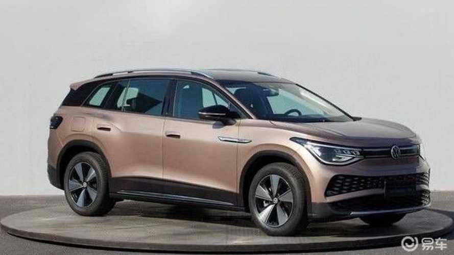 Электрический кроссовер Volkswagen ID.6 полностью рассекречен
