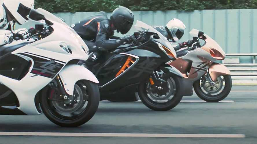 New Suzuki Hayabusa Launch Video Leaked Ahead Of Debut