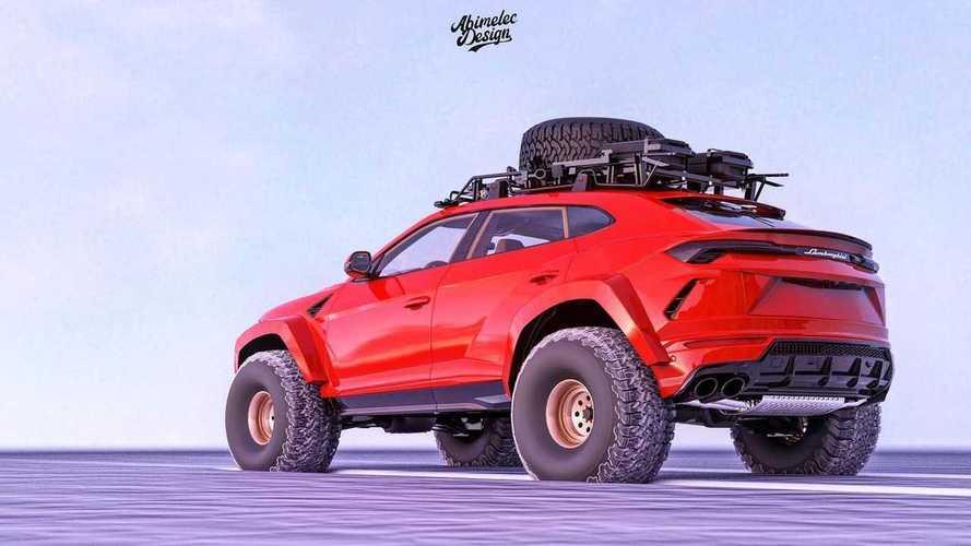 Lamborghini Urus Off-Roader de Abimelec Design