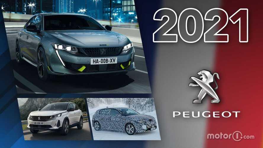 Peugeot - Toutes les nouveautés de 2021
