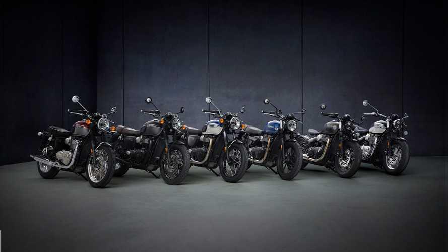 Triumph Bonneville T120 e T120 Black 2021
