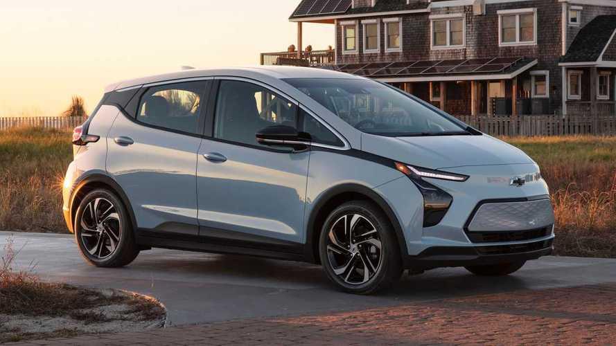 Обновленный Chevrolet Bolt EV