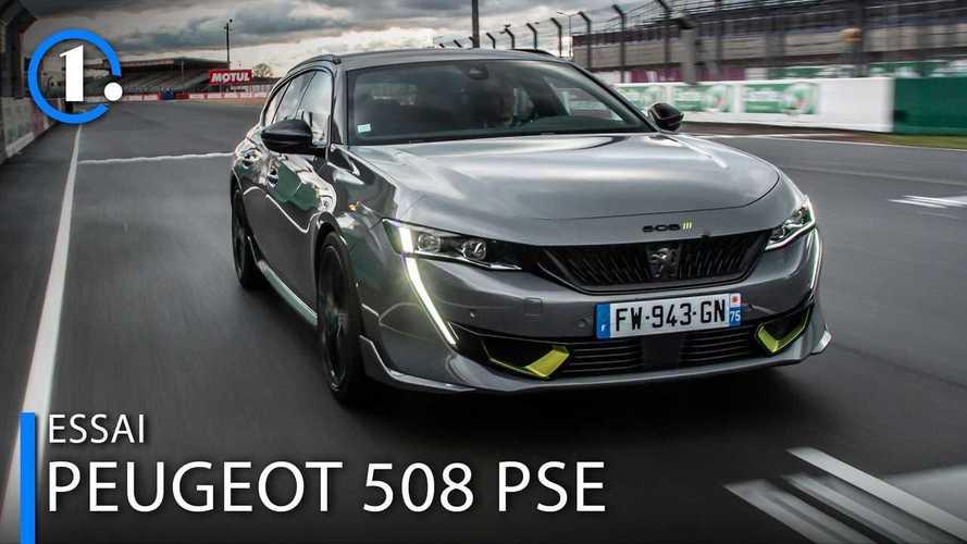 Essai Peugeot 508 PSE - Les doigts dans la prise