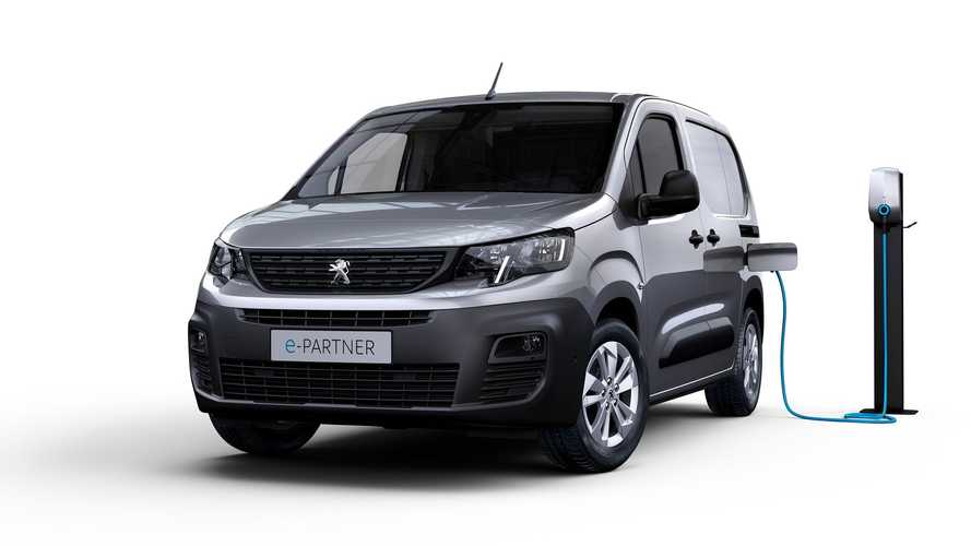 Peugeot announces next-generation electric Partner compact van for UK