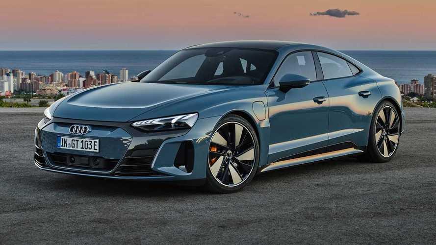 Audi RS E-Tron GT'nin otobandaki hızlanma videosunu izleyin