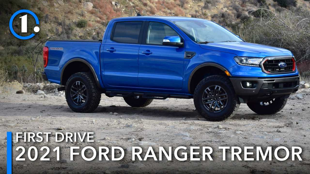 2021 Ford Ranger Tremor First Drive