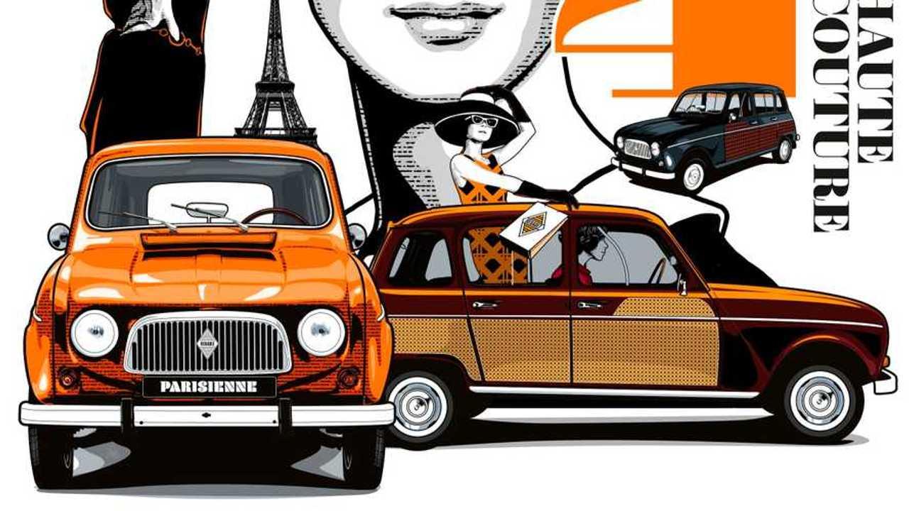 Renault 4L 60. születésnap