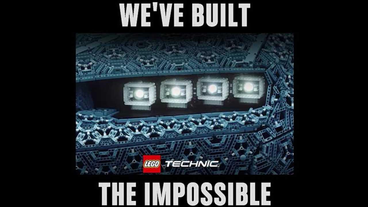 Bugatti Lego Teaser