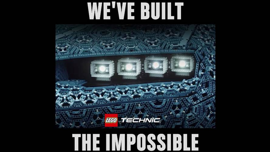 Lego Teases Full-Sized Bugatti Model With Functioning Headlights