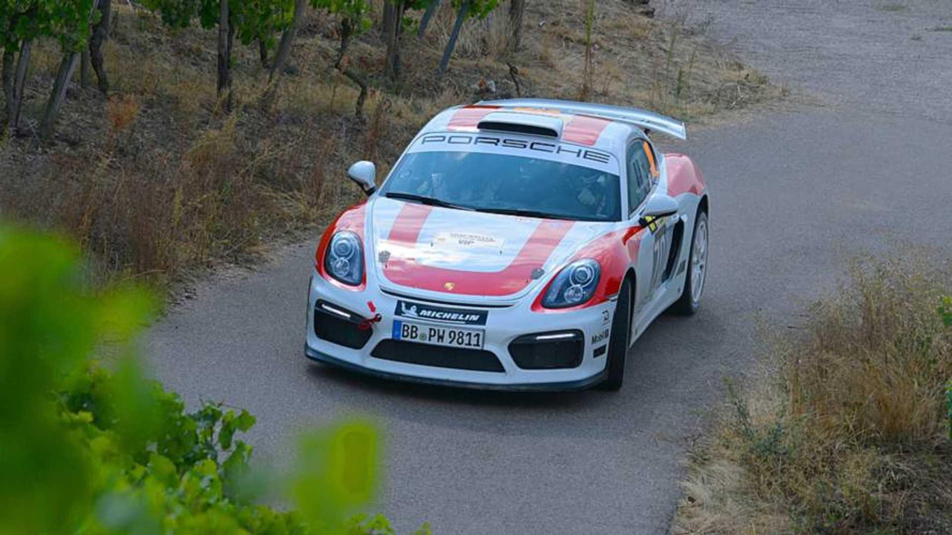 Porsche Wants 100 Buyers To Make Cayman Rally Car Happen